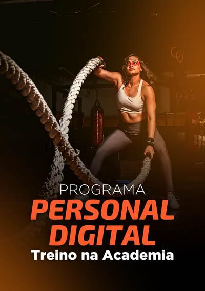 Banner 02 - Programa Personal Digital Treino na Academia