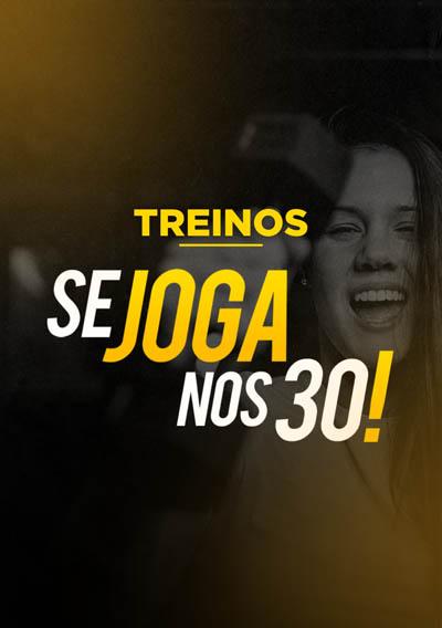 Banner 02 - Treinos Se Joga nos 30!